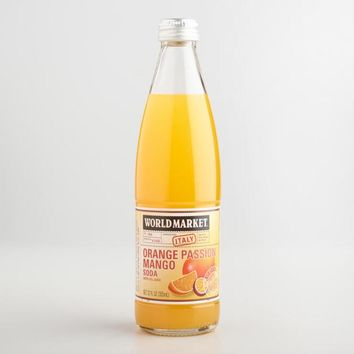 World Market® Orange Mango Passion Fruit Italian Soda 335ml