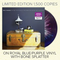 Maybe This Place Is The Same... Royal Blue/Purple W/ Bone Splatter Vinyl : FEAR : MerchNOW - Your Favorite Band Merch, Music and More
