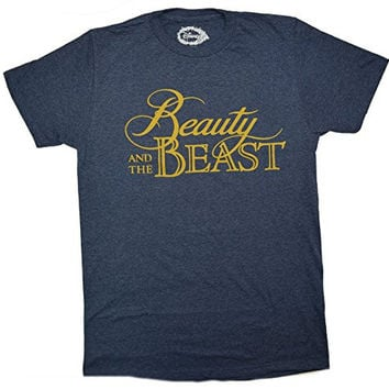 Disney Beauty And The Beast Movie Logo T-shirt