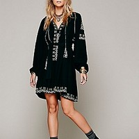 Mes Demoiselles Paris  Felicia Embroidered Dress at Free People Clothing Boutique