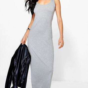 Sandy Scoop Neck Maxi Dress | Boohoo