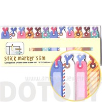 Colorful Gift Tags Shaped Memo Pad Post-it Index Sticky Bookmark Tabs | DOTOLY