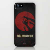 The Walking Dead Poster 01 iPhone Case by Misery | Society6