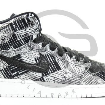 AIR JORDAN RETRO 1 HIGH BHM GG (GS) - BLACK HISTORY MONTH