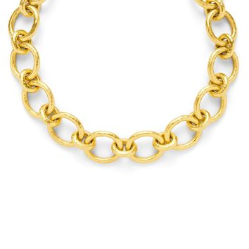 Catalina Large Link Necklace