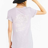 Truly Madly Deeply Nubby Death Side-Slit Tee-