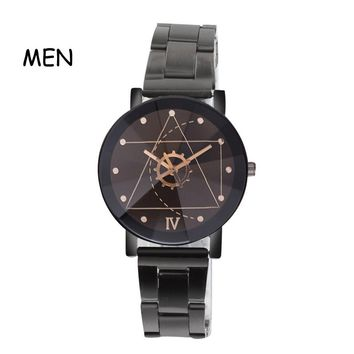 Relojes Hombre Luxury Fashion Military Stainless Steel Cool Quartz Sports Watch Casual Women Wristwatch Hot Sale Couple Watches
