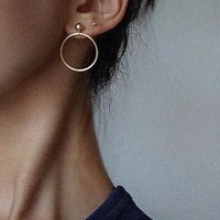 """""""Perfect Circle"""" Earring Studs"""