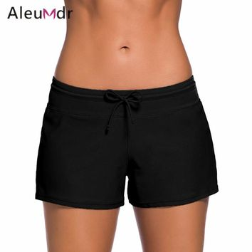 Aleumdr Women Boardshort Bikinis Panties Bathing Shorts Two-Piece Separates Swimwear Beachwear Swimsuit Bikini Bottoms LC41977