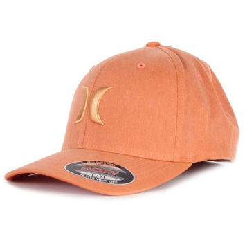 Hurley Mens Hats One and Textures Ballcap Orange