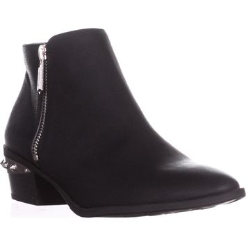 Circus by Sam Edelman Holt Spiked Heel Ankle Boots, Black, 9.5 US / 39.5 EU