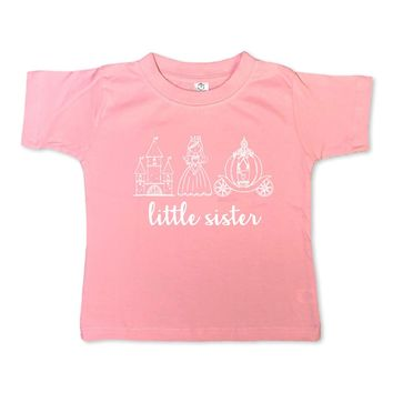 Little Sister Princess Short Sleeve Tee