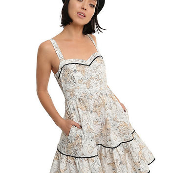Map Swing Dress