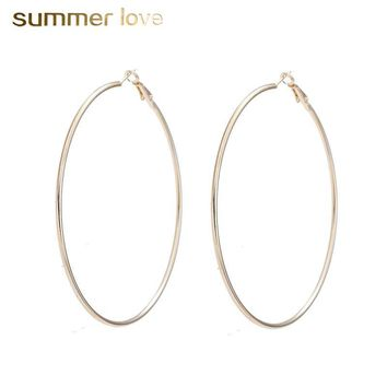 Fashion Big Hoop Earrings Jewelry Ring And Earrings Large Circle Earring For Women Brinco Hoop Earrings  Pendientes Aros
