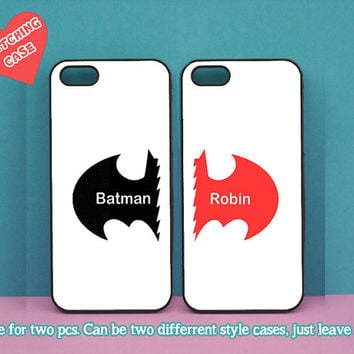 Batman and Robin in pair,iphone 4 case,iphone 5C case,iphone 5S case,iphone 5 case,ipod 4 case,ipod 5 case,Blackberry Z10 case,Q10 case