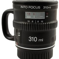 Into Focus Mug Camera Lens Cup