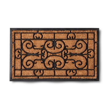 Scroll Coir Door Mat - Smith & Hawken™