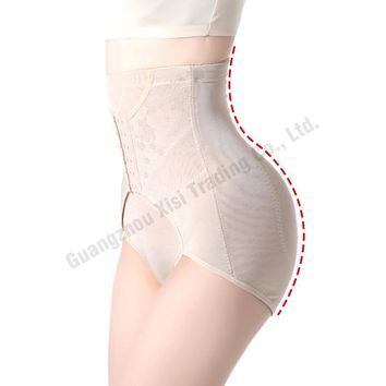 2016 New Plus Size Women Sexy Lingerie Body High Waist Shapers Underwear Pants Breasted Women Control Panties Fashion 830