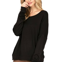 Carry On Fleece Lined Pullover