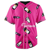 Actavis Button Up Baseball Jersey