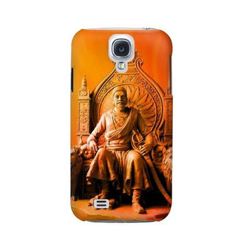 P1104 Shivaji Maharaj Comes Marathas Case Cover For Samsung Galaxy S4