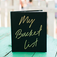 'My Bucketlist' Journal