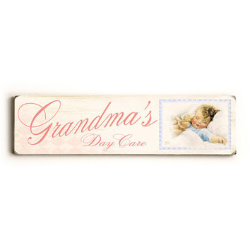 Personalized Day Care Wood Sign