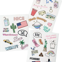 USA Sticker Set