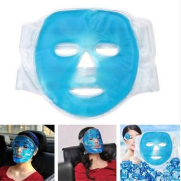 Gel Hot Ice Cooling Face Mask Pain Relief Pillow Face Massage