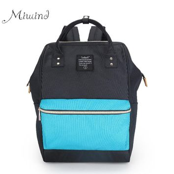 2017 Vintage Designer Preppy Patchwork High Quality Canvas Backpack Hand Women Men School Laptop Bag Rucksacks Mochila Teens
