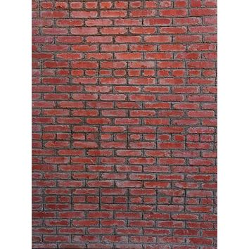 Red Brick Wall Backdrop - 6706