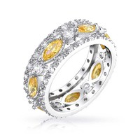 Bling Jewelry Citrine Sheen Ring
