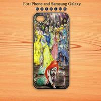 Zombie,Princess,iphone 5 case,iPhone 5C Case,iPhone 5S Case, Phone case,iPhone 4 Case, iPhone 4S Case,Galaxy Samsung S3, S4