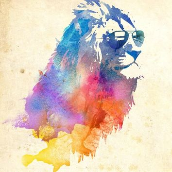 """Sunny Leo"" - Art Print by Robert Farkas"