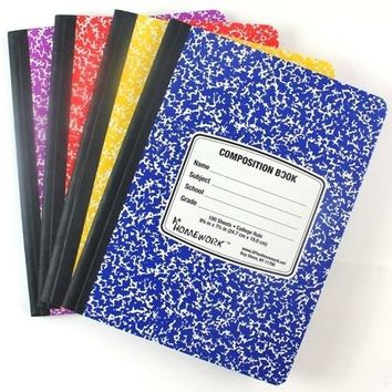 A+ Homework Composition Notebook College Ruled - 100 Sheets(Pack Of 48)