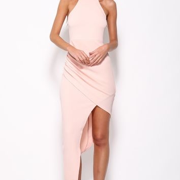 Key To The City Maxi Dress Peach