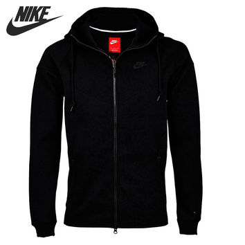 Original New Arrival 2016 NIKE TECH FLEECE WINDRUNNER Men's Jacket Hooded Sportswear