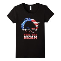 Feel the Bern Patriotic US Flag T-Shirt