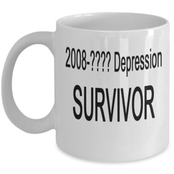 2008-???? Depression SURVIVOR Mug