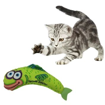New Lovely Pet Supplies Fat Cat Toy Kitty Hoots Catnip Kitten Dog Fish Mouse Toys For Cats Catnip Scratch 6 Style