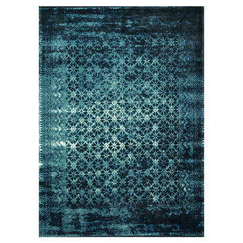 Loloi Rugs Journey Indigo Blue Area Rug & Reviews | Wayfair