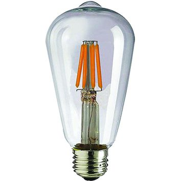 Sleek Lighting 4-watt Dimmable Led Filament Light Bulb St64