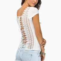 Lace Me Up Top $23