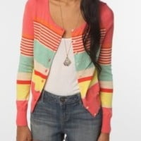 UrbanOutfitters.com > Pins and Needles Candy Stripe Cardigan