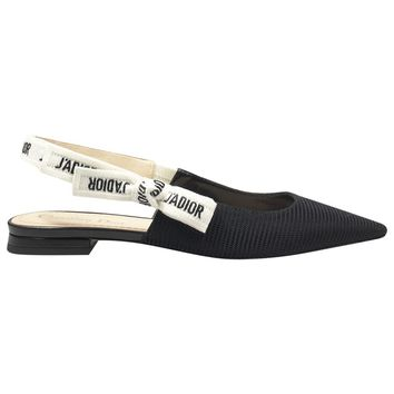 Cloth ballet flats DIOR Black