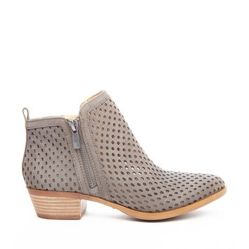 Lucky Brand Basel 3 Leather Ankle Bootie