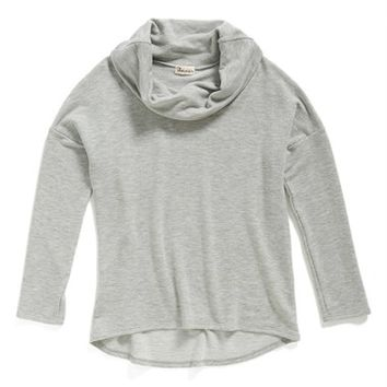 Girl's Ten Sixty Sherman Cowl Neck Top,