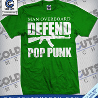 "Man Overboard ""Defend Pop Punk"" Shirt Kelly 