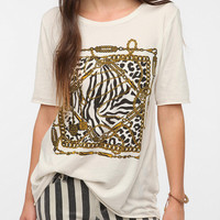 Truly Madly Deeply Chained Frame Tee