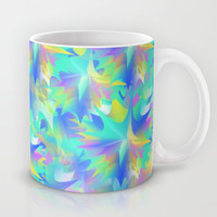 Aquatic Tie Dye Mug by KJ53321